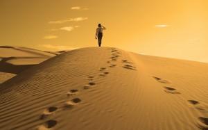 Walking-Man-In-Desert-Wallpaper-300x187